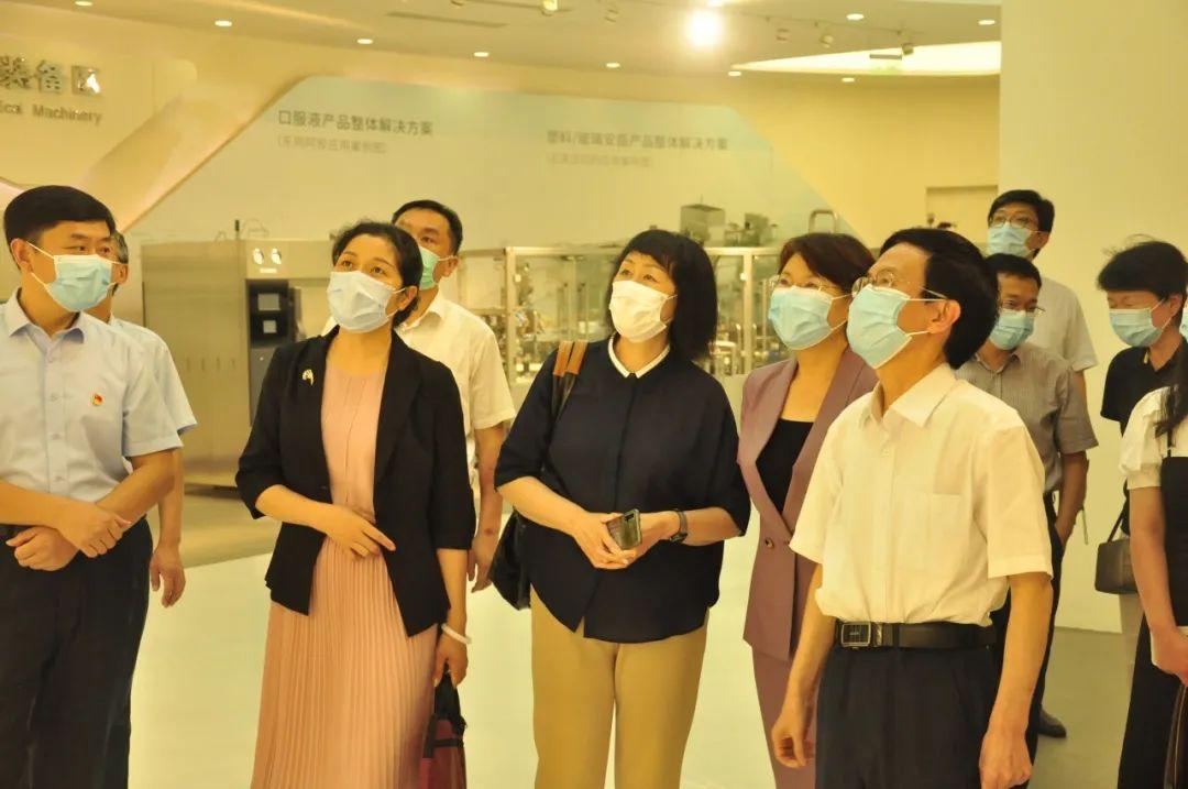 中国企业联合会课题组专家就党建工作与生产经营深度融合到山能新华医疗调研